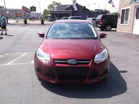 2014 Ford Focus for sale at sharp auto center in Worcester MA