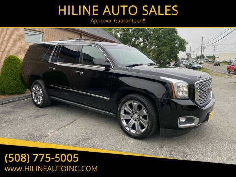 2015 GMC Yukon XL for sale at HILINE AUTO SALES in Hyannis MA