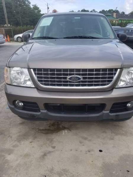 2003 Ford Explorer for sale at Palmer Automobile Sales in Decatur GA