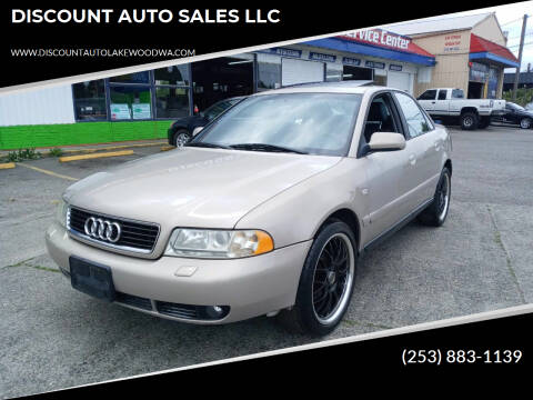 2000 Audi A4 for sale at DISCOUNT AUTO SALES LLC in Spanaway WA