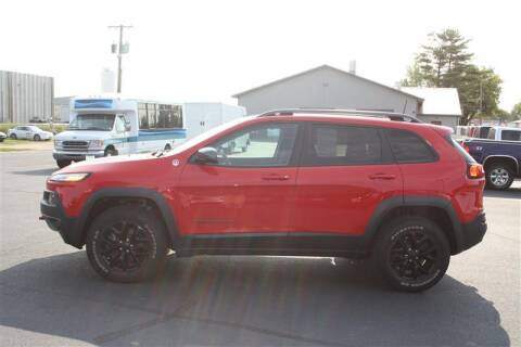 2017 Jeep Cherokee for sale at SCHMITZ MOTOR CO INC in Perham MN
