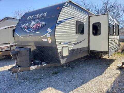 2018 Forest River Puma 29QBSS for sale at Ultimate RV in White Settlement TX