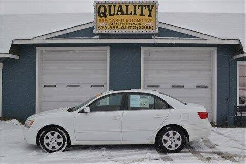 2009 Hyundai Sonata for sale at Quality Pre-Owned Automotive in Cuba MO