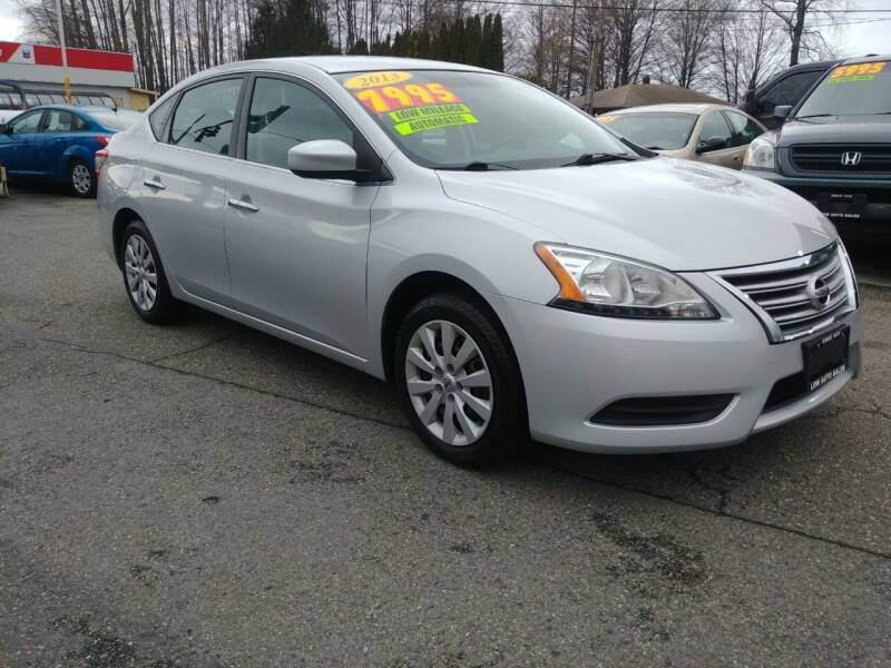 2013 Nissan Sentra for sale at Low Auto Sales in Sedro Woolley WA