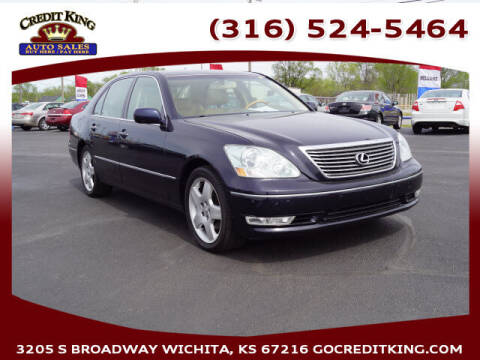 2006 Lexus LS 430 for sale at Credit King Auto Sales in Wichita KS