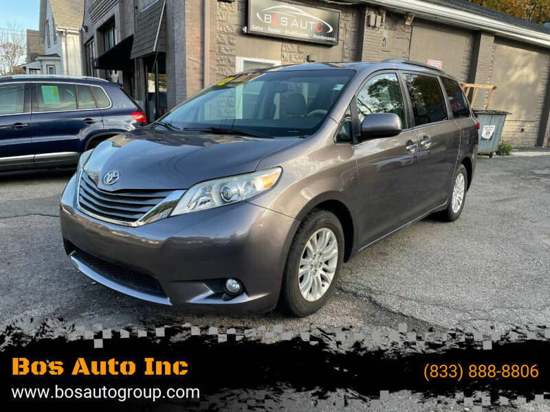 2012 Toyota Sienna for sale at Bos Auto Inc in Quincy MA