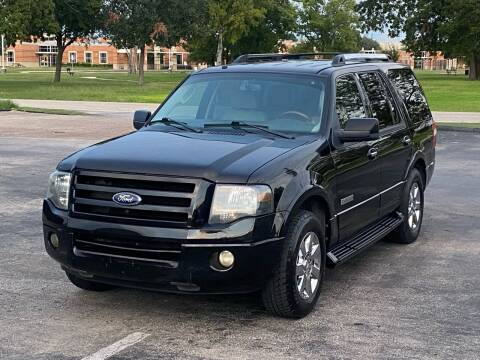 2008 Ford Expedition for sale at Hadi Motors in Houston TX