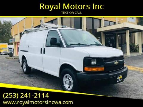 2012 Chevrolet Express Cargo for sale at Royal Motors Inc in Kent WA