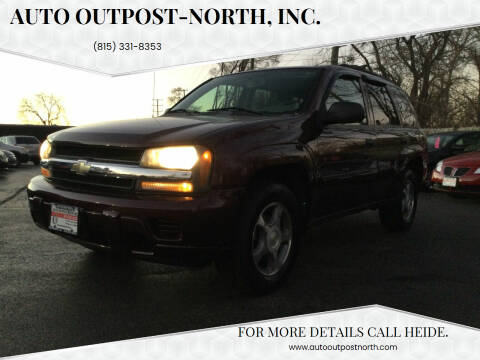 2007 Chevrolet TrailBlazer for sale at Auto Outpost-North, Inc. in McHenry IL