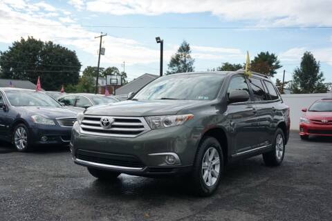 2012 Toyota Highlander for sale at HD Auto Sales Corp. in Reading PA