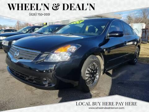 2008 Nissan Altima for sale at Wheel'n & Deal'n in Lenoir NC