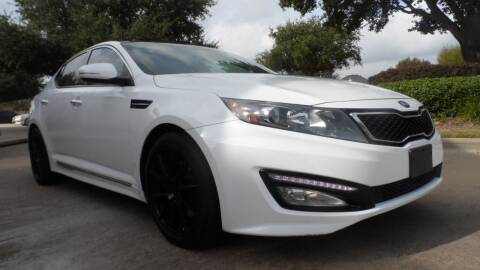 2013 Kia Optima for sale at Exhibit Sport Motors in Houston TX