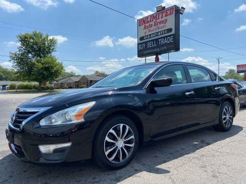 2013 Nissan Altima for sale at Unlimited Auto Group in West Chester OH