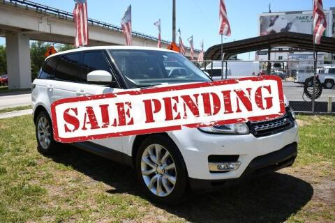 2014 Land Rover Range Rover Sport for sale at STS Automotive - Miami, FL in Miami FL