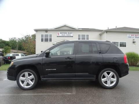 2012 Jeep Compass for sale at SOUTHERN SELECT AUTO SALES in Medina OH