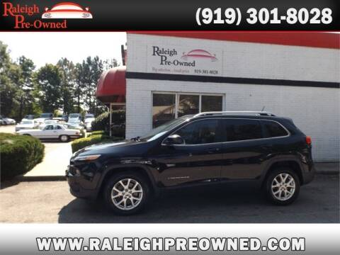 2014 Jeep Cherokee for sale at Raleigh Pre-Owned in Raleigh NC