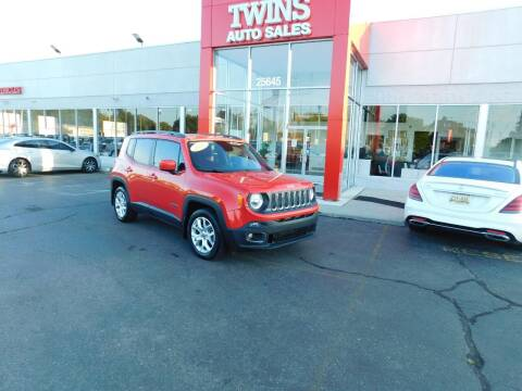 2018 Jeep Renegade for sale at Twins Auto Sales Inc Redford 1 in Redford MI