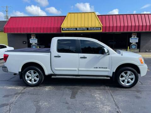 2012 Nissan Titan for sale at Affordable Mobility Solutions, LLC - Standard Vehicles in Wichita KS