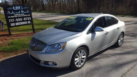 2013 Buick Verano for sale at LMJ AUTO AND MUSCLE in York PA