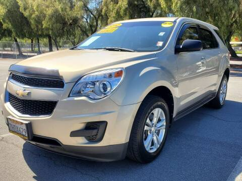 2010 Chevrolet Equinox for sale at ALL CREDIT AUTO SALES in San Jose CA