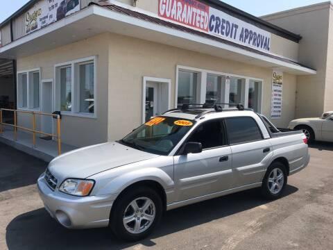 2005 Subaru Baja for sale at Suarez Auto Sales in Port Huron MI