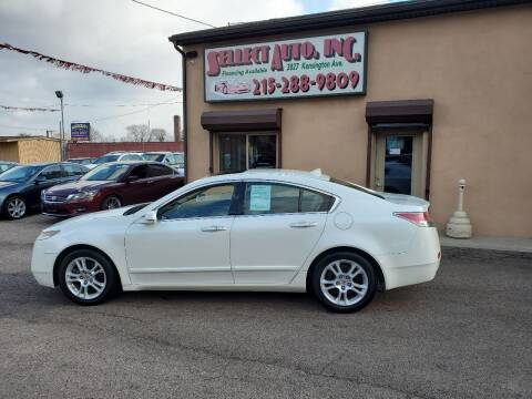 2009 Acura TL for sale at SELLECT AUTO INC in Philadelphia PA