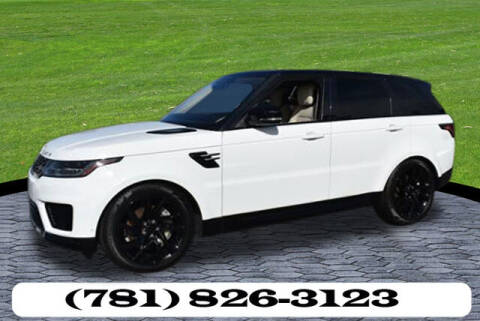 2018 Land Rover Range Rover Sport for sale at AUTO ETC. in Hanover MA