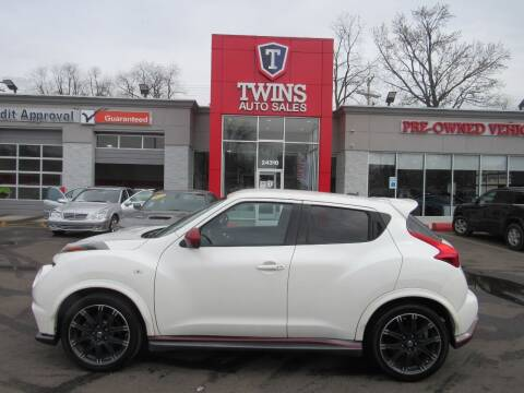 2013 Nissan JUKE for sale at Twins Auto Sales Inc in Detroit MI