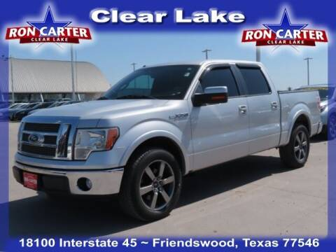 2012 Ford F-150 for sale at Ron Carter  Clear Lake Used Cars in Houston TX