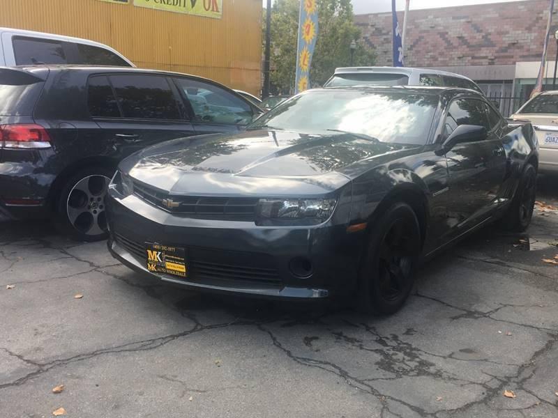 2014 Chevrolet Camaro for sale at MK Auto Wholesale in San Jose CA