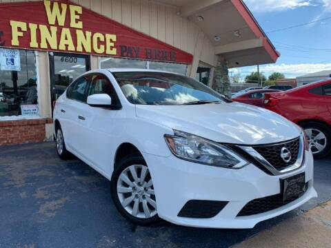 2019 Nissan Sentra for sale at Caspian Auto Sales in Oklahoma City OK
