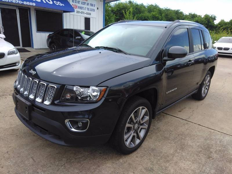 2016 Jeep Compass for sale at Discount Auto Company in Houston TX