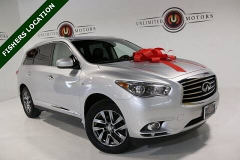2014 Infiniti QX60 for sale at Unlimited Motors in Fishers IN