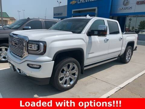 2018 GMC Sierra 1500 for sale at Midway Auto Outlet in Kearney NE
