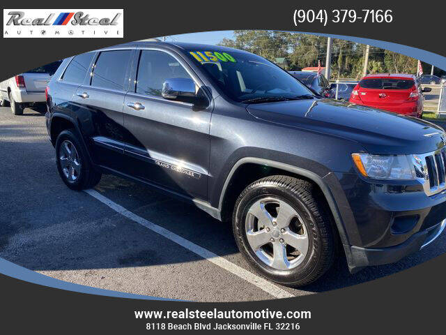 2013 Jeep Grand Cherokee for sale at Real Steel Automotive in Jacksonville FL