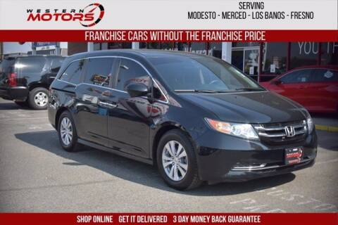 2017 Honda Odyssey for sale at Choice Motors in Merced CA