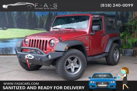 2013 Jeep Wrangler for sale at Best Car Buy in Glendale CA