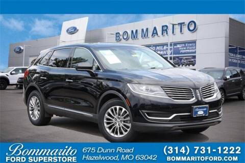 2018 Lincoln MKX for sale at NICK FARACE AT BOMMARITO FORD in Hazelwood MO