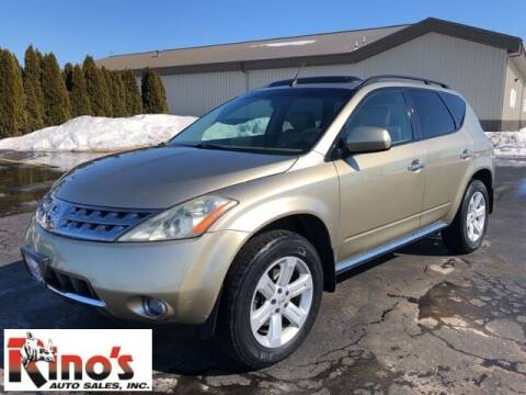 2006 Nissan Murano for sale at Rino's Auto Sales in Celina OH
