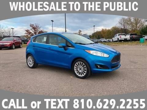 2014 Ford Fiesta for sale at LASCO FORD in Fenton MI