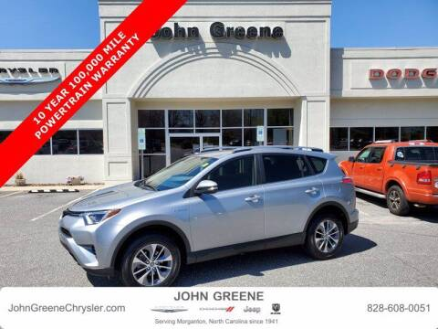 2018 Toyota RAV4 Hybrid for sale at John Greene Chrysler Dodge Jeep Ram in Morganton NC