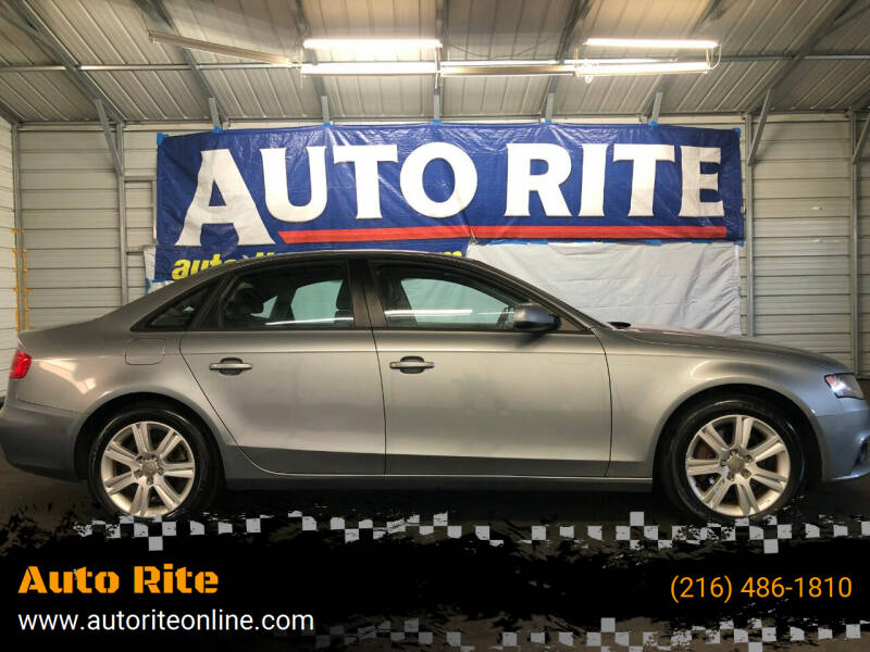2011 Audi A4 for sale at Auto Rite in Bedford Heights OH