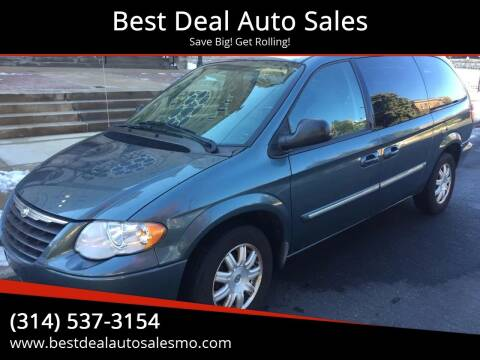 2006 Chrysler Town and Country for sale at Best Deal Auto Sales in Saint Charles MO