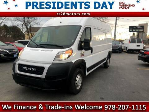 2019 RAM ProMaster Cargo for sale at RT28 Motors in North Reading MA