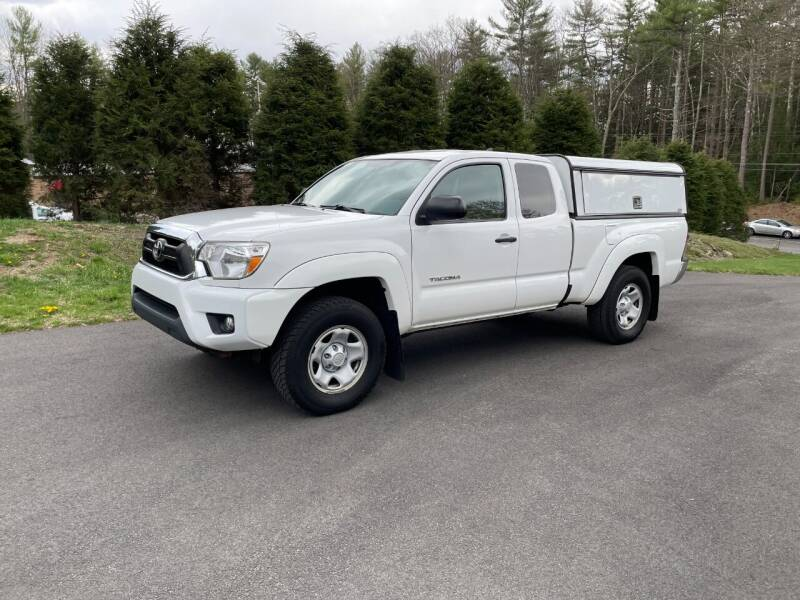 2015 Toyota Tacoma for sale at DON'S AUTO SALES & SERVICE in Belchertown MA