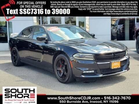2016 Dodge Charger for sale at South Shore Chrysler Dodge Jeep Ram in Inwood NY