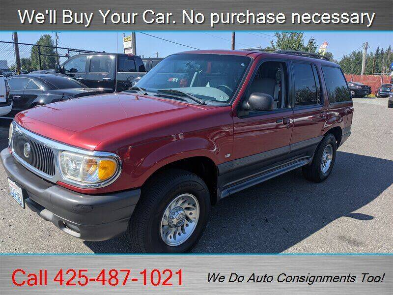 1999 Mercury Mountaineer for sale at Platinum Autos in Woodinville WA
