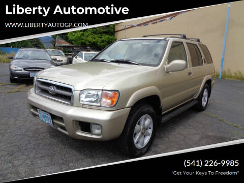 1999 Nissan Pathfinder for sale at Liberty Automotive in Grants Pass OR