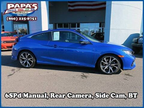 2019 Honda Civic for sale at Papas Chrysler Dodge Jeep Ram in New Britain CT