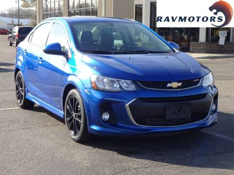 2017 Chevrolet Sonic for sale at RAVMOTORS 2 in Crystal MN